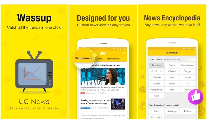 download uc news android  in Aplikasi Uc News Samsung Galaxy