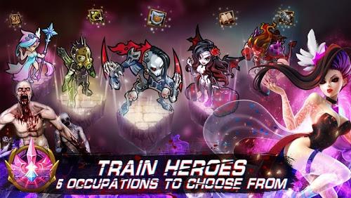 download Magic Rush Heroes in Magic Rush: Heroes mod data hack