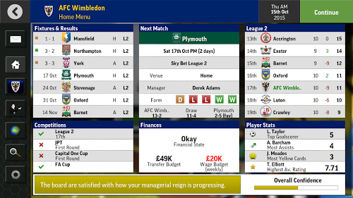 download Football Manager Mobile 2016 APK mod in Football Manager Mobile