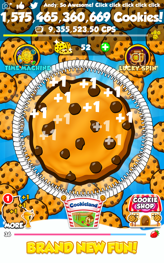 Game Cookie Clickers 2 1.2.1 icon