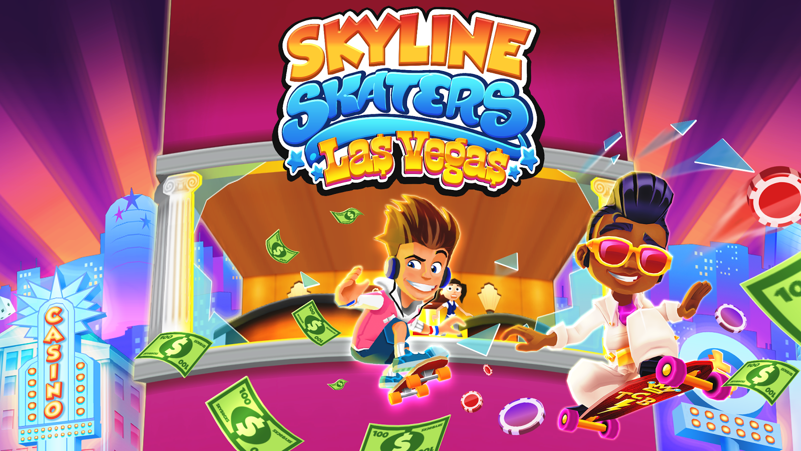 Game Skyline Skaters (Mod)2.14