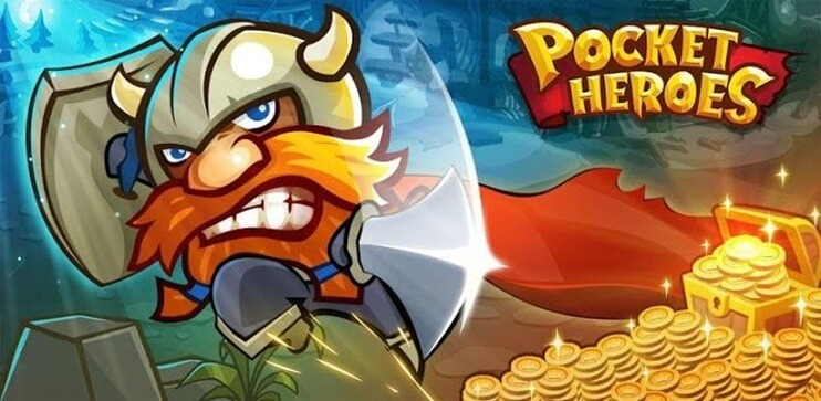 Pocket Heroes mod apk FULL icon
